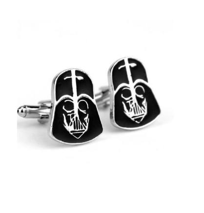 Darth Vader Helmet Cufflinks - 2