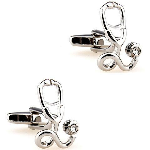 Cufflinks stethoscope for doctors - 2