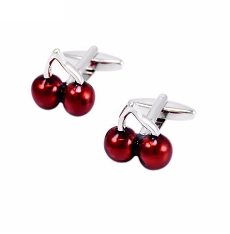 Cufflinks of cherries - 2