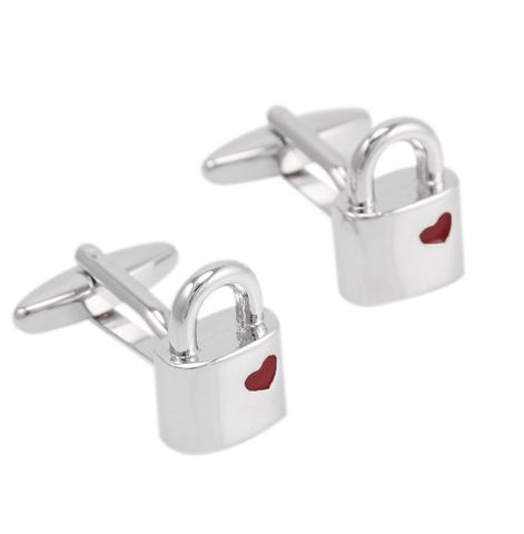 Cufflinks padlock - 2