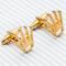 Cufflinks golden crown - 2/2