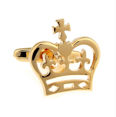 Royal Crown Design Cufflinks - 2