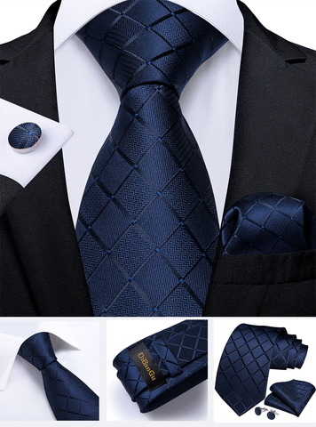 Cufflinks & Tie & Pocket Square Set - Eris - 2