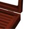Black Cufflink Box - for three pairs - 2/4
