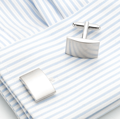 Cufflinks with buckle for engraving - 3