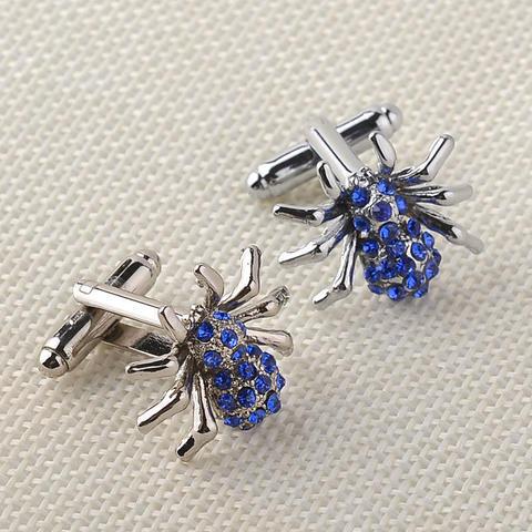 Blue Spider Cufflinks - 3