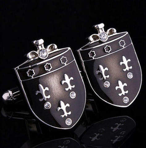 Medieval Shield Cufflinks - 3