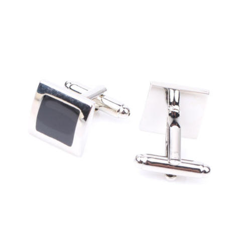 Stylish Black Cufflinks - 3