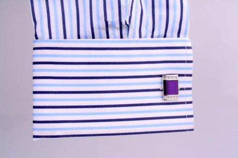 Violet Pool Cufflinks - 3