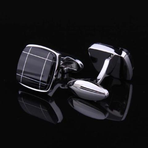 Black Crossroad Cufflinks - 3