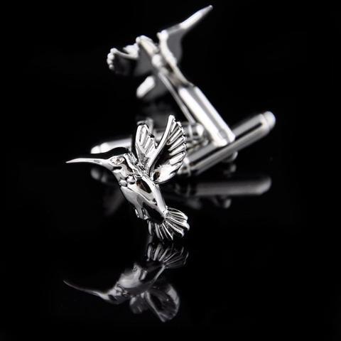 Hummingbird Cufflinks - 3