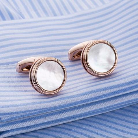 Cufflinks natural pearl - 3