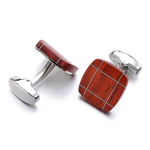 Cufflinks mahogany - 3