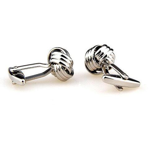 Gun Metal Knot Cufflinks - 3