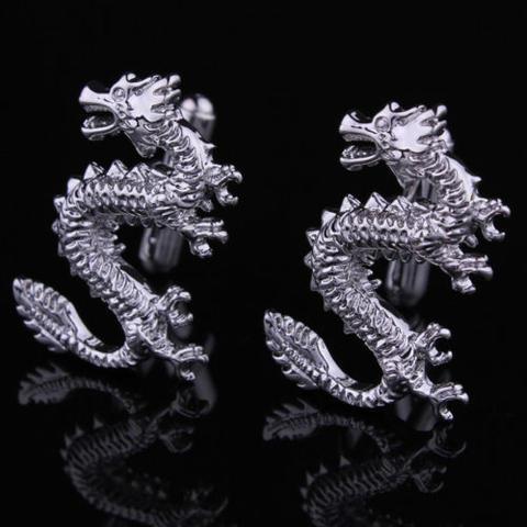 Chinese Dragon Cufflinks - 3