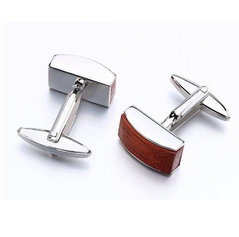 Cufflinks wooden strip - 3