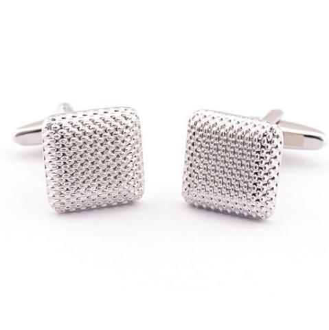 Square Stamping Cufflinks - 3