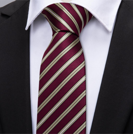 Cufflinks & Tie & Pocket Square Set - Peithó - 3
