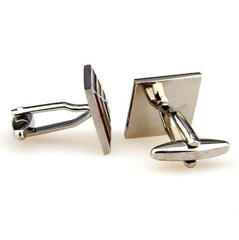 Orange Rainbow Cufflinks - 3