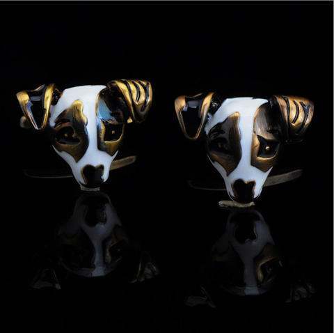 Puppy Cufflinks - 3