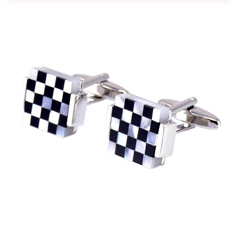 Cufflinks pearl mosaic - 3