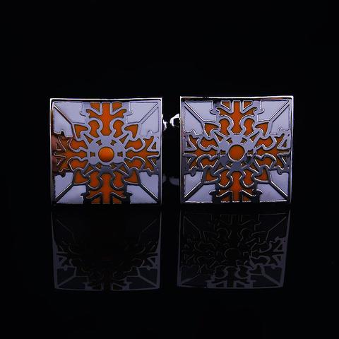 Floral Ornament Cufflinks - 3