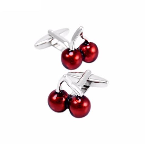 Cufflinks of cherries - 3