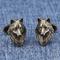 Cufflinks wolf head - 3/3