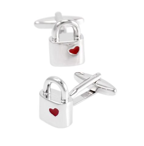 Cufflinks padlock - 3