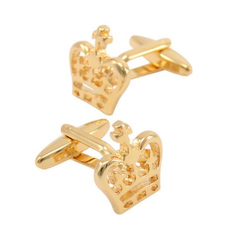 Royal Crown Design Cufflinks - 3