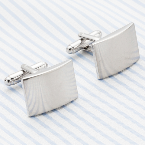 Cufflinks with buckle for engraving - 4