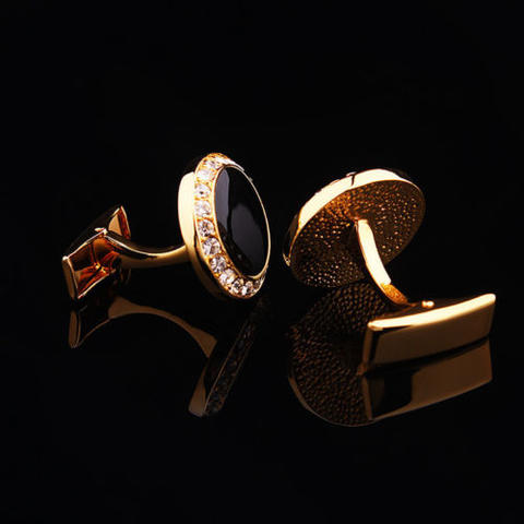 Luxury Black Eye Cufflinks - 4