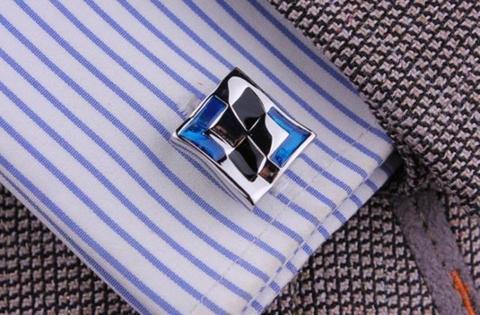 Blue Destiny Cufflinks - 4