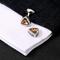 Cufflinks amber triangle - 4/4