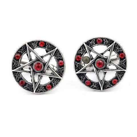Pentagram Cufflinks - 4