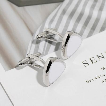 Cufflinks Luxus triangle - 4