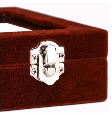 Black Cufflink Box - for three pairs - 4