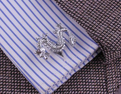 Chinese Dragon Cufflinks - 6